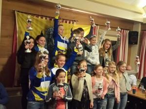 Schaatsers blij met behaalde prijzen