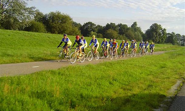 Nieuwe STG fietsgroep met tourtempo
