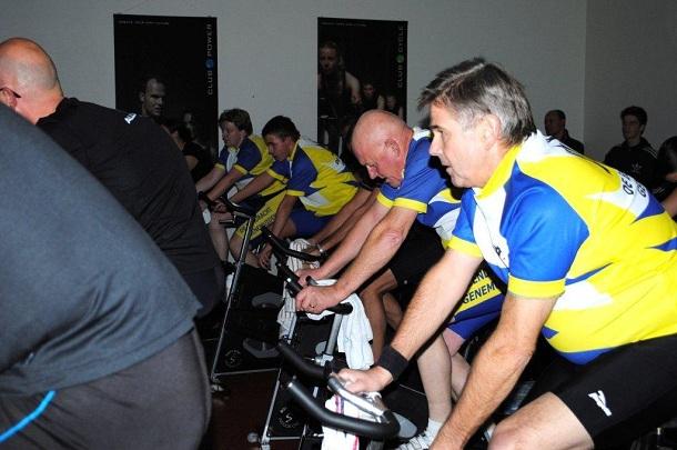 """STG fietsers actief bij spinningmarathon voor """"Vrienden van de Meente"""""""