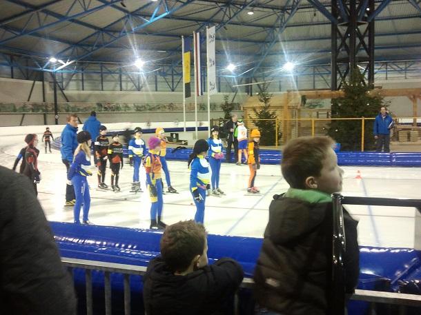 Afsluitende wedstrijden & baanrecords voor STG Eendracht schaatsers