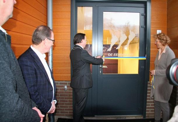 """Nieuwbouw """"de Eendracht"""" officieel geopend."""