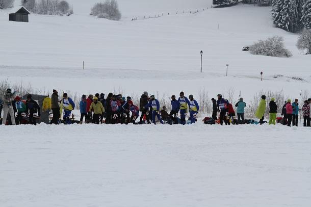 Schaatsers STG rijden op Weissensee alternatieve uit