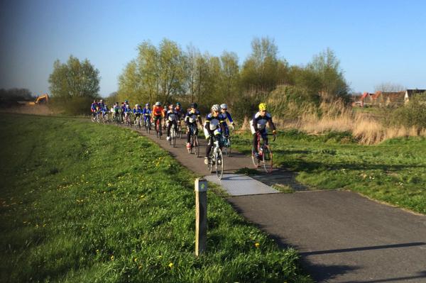 Ook dit seizoen weer fietstraining voor jeugdleden